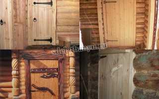Дверь для бани своими руками: пошаговая инструкция как правильно сделать и утеплить