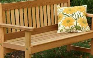 Как изготовить садовые скамейки своими руками из поддонов