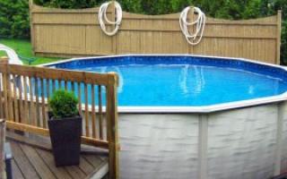 Как сделать бассейн на даче из подручных материалов своими руками – инструкция с фото и видео