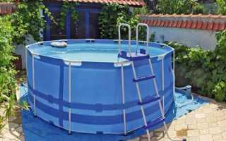 Каркасный бассейн своими руками – пошаговая инструкция с фото и видео