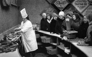 Лучшие блюда времён СССР: ностальгический опрос и статистика