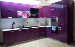 Дизайн кухни в фиолетовых и сиреневых тонах в интерьере: цветовые сочетания и гармонии, фото-идеи