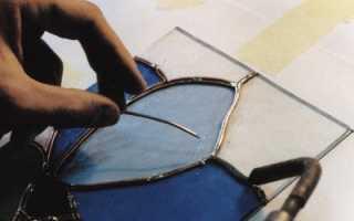 Витражи на стекле своими руками – инструкции с фото, видео и трафаретами