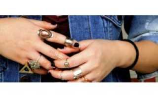 Значение колец на пальцах у женщин, на каком носят обручальное