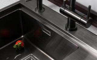 Врезная мойка для кухни: виды, размеры, нюансы монтажа