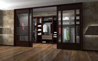 Двери для гардеробной комнаты: разновидности, особенности устройства и эксплуатации
