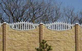 Как сделать и чем покрасить бетонный забор своими руками – пошаговое руководство с фото и видео