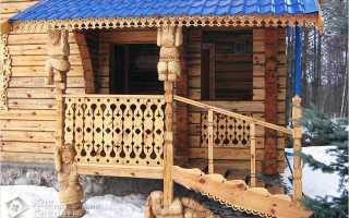 Как построить деревянное крыльцо своими руками: поэтапно, фото и видео