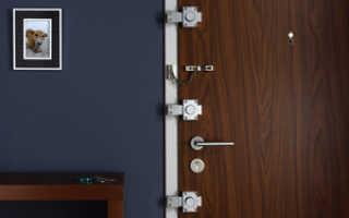 Замок накладной для металлической двери: как правильно выбрать и установить