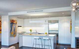 Интерьер кухни и гостиной в стиле хай-тек: примеры оформления дизайна, выбор цвета и материала