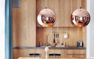 Потолочные светильники для кухни: разновидности, фото