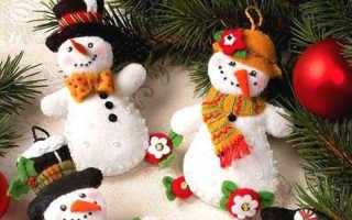 Снеговик своими руками на Новый год: инструкция и подборка фото