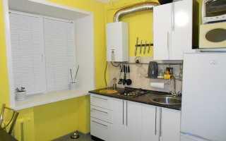 Дизайн маленькой кухни 5 кв м в хрущевке с холодильником, газовой колонкой и прочим