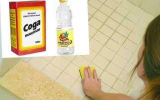 Как убрать черную плесень в ванной