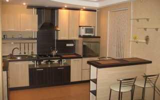 Дизайн кухни с барной стойкой, совмещенной с гостиной: особенности оформления интерьера, фото-идеи