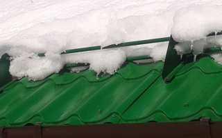 Очистка кровли от снега и льда, как рассчитать с контролировать снеговую нагрузку