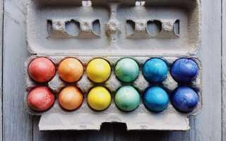 Как красиво покрасить яйца на Пасху краснокочанной капустой, свёклой, шелухой, фото
