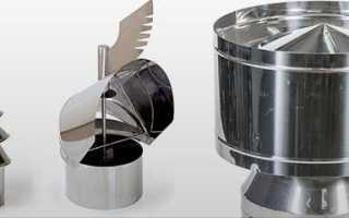 Дефлектор на дымоход его виды с характеристикой и принципом действия