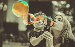 Рецепты мыльных пузырей с глицерином в домашних условиях + фото и видео