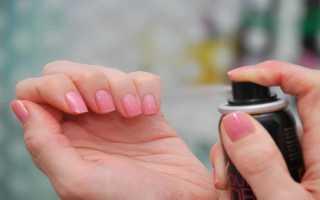 Как быстро высушить лак на ногтях: разные способы + фото и видео