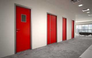 Установка противопожарных дверей: как правильно провести монтаж