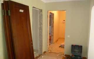Установка деревянных дверей, как правильно провести демонтаж
