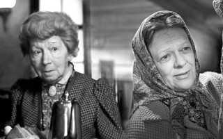 Знаменитые советские кинобабушки в молодости: как они выглядели