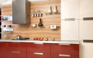 Фартук для кухни из ламината: характеристика, преимущества и недостатки, примеры с фото