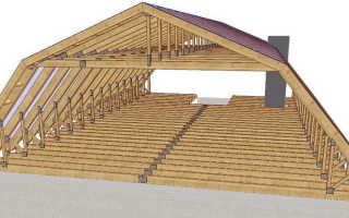 Крыша ломаная мансардная, ее конструкция и основные элементы, особенности монтажа и эксплуатации