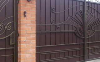 Как построить распашные кованые ворота своими руками — пошаговая инструкция с фото
