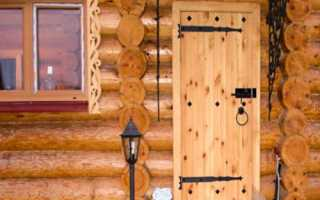 Как сделать дверь своими руками: какой материал и инструменты лучше использовать