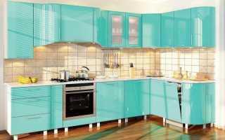 Бирюзовый цвет в интерьере кухни: фото, стилевые решения и особенности оформления