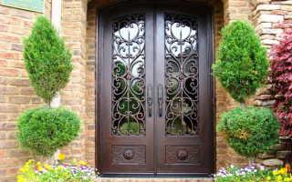Входные двери с кованые: разновидности, устройство, комплектующие, особенности