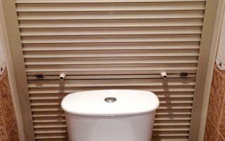 Рольставни в туалет: разновидности и материал, плюсы и минусы, как правильно установить