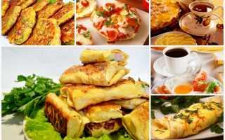Рецепты завтраков с фото: простые, вкусные, быстрые и полезные варианты на скорую руку