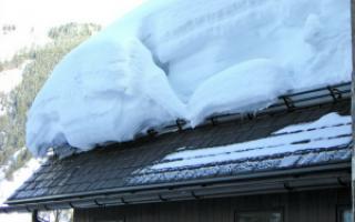 Снегозадержатели на крышу из профнастила обзор разновидностей