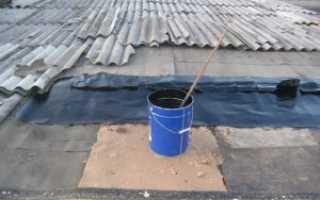 Как отремонтировать крышу гаража своими руками, как устранить течь изнутри