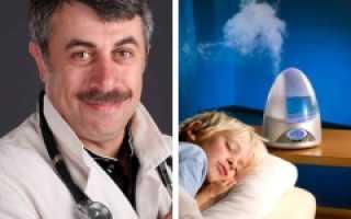 Зачем нужен увлажнитель воздуха в квартире для ребёнка, мнение Комаровского