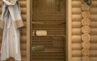 Стеклянные двери для сауны и бани: разновидности, устройство, комплектующие, особенности