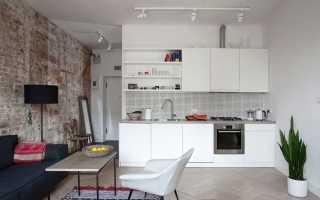 Интерьер кухни и гостиной в стиле минимализм: примеры оформления дизайна