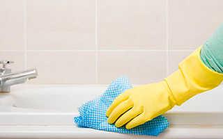 Как отбелить ванну в домашних условиях, отчистить до бела от желтого налета