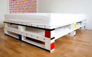 Как сделать мебель из поддонов (паллет) своими руками: пошаговые инструкции, схемы сборки и прочее