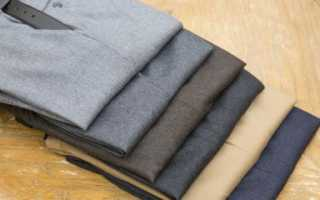 Как правильно гладить брюки со стрелками и без них, нюансы глажки + видео и фото