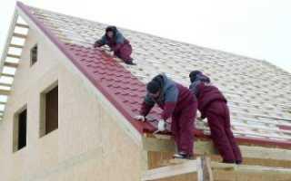 Как покрыть крышу металлочерепицей своими руками, расчет количества необходимого материала
