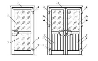 Пластиковые двери: разновидности, устройство, комплектующие, особенности монтажа и эксплуатации