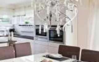 Светильники для кухни: как правильно выбрать, фото