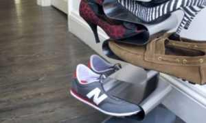 Как сделать полку для обуви в прихожую своими руками из разных материалов + фото и видео