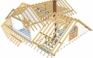Конструкция крыши деревянного дома основные узлы кровли, какой материал лучше использовать