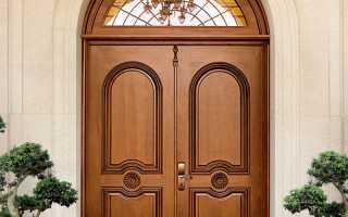 Входные двери деревянные утепленные: устройство, комплектующие, особенности