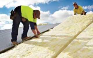 Как утеплить крышу изнутри в частном доме своими руками: пошаговые инструкции с фото и видео